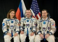 International Space Station Expedition 14 Official Crew Photograph with Anousheh Ansari #4